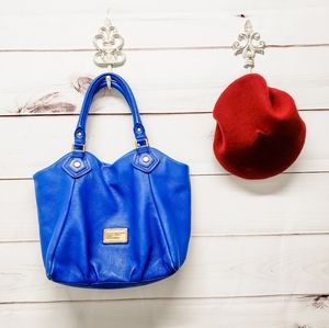 Marc by Marc Jacobs RARE Royal Blue leather bag